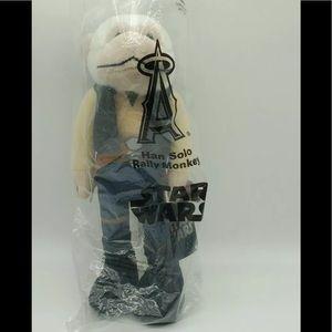 Han Solo LA Angels Star Wars Rally  Monkey New